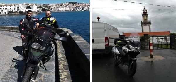 motorouring,motorurismo, big trail, moto, adventure bike, viaje en moto, rutas en moto, turismo en moto, cadaques, hondarribia, transpirenaica, la 2 mares, la dos mares