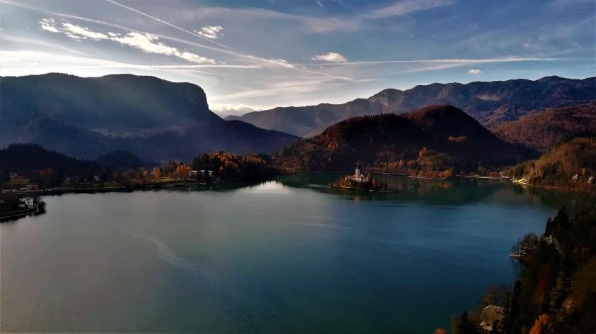 Bles, Eslovenia, Slovenia, lake, lago, iglesia, church