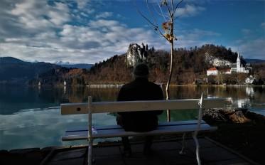 Bled, Eslovenia, Slovenia, Lago, castillo, lake, castle