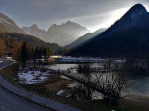 atardecer, Kranjska Gora, Eslovenia, Slovenia, sunset