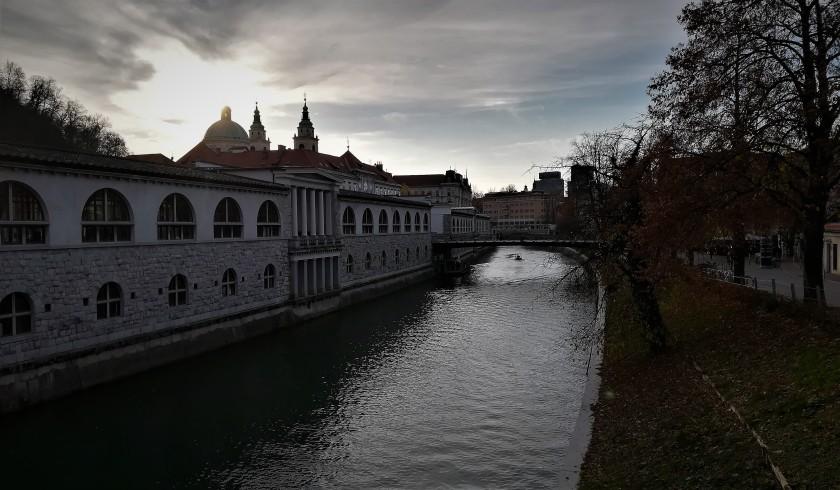 Liubliana, Ljubljana, Eslovenia, Slovenia, río, river