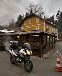 Penzion, Mlino, Bled, Eslovenia, Slovenia, moto, motorbike touring, mototurismo