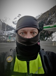 sotocasco, frío, moto, motorbike touring, mototurismo, cold, Alps, Alpes, Austria