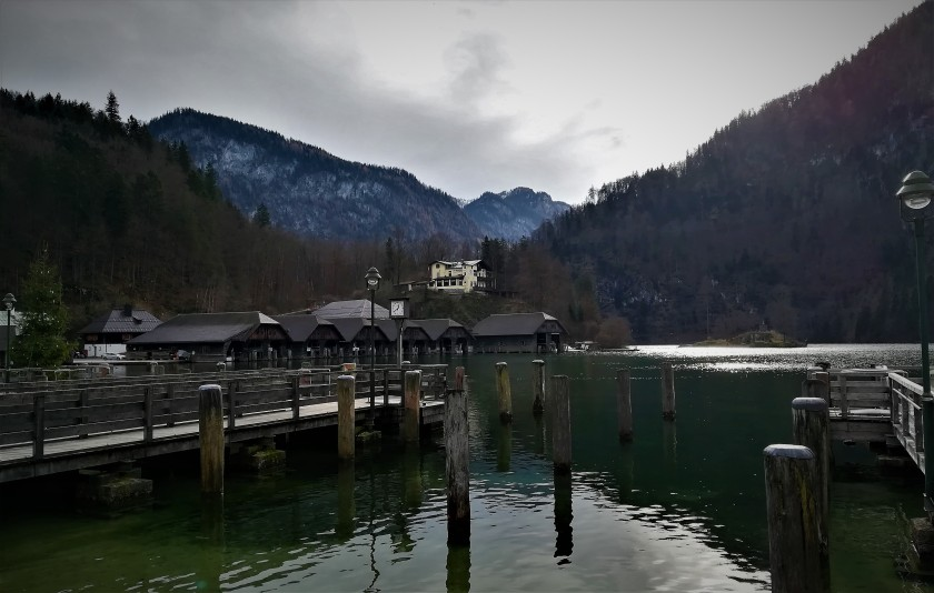 embarcadero, lago konigssee, lake, pier,