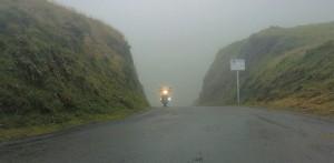 moto, col, puerto de montaña, Hourquette d'Ancizan,