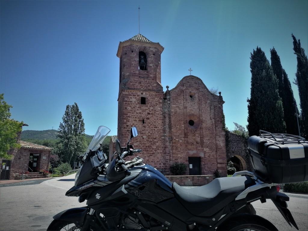 moto, iglesia, Sant Martí del Brull, El Brull, Brull,